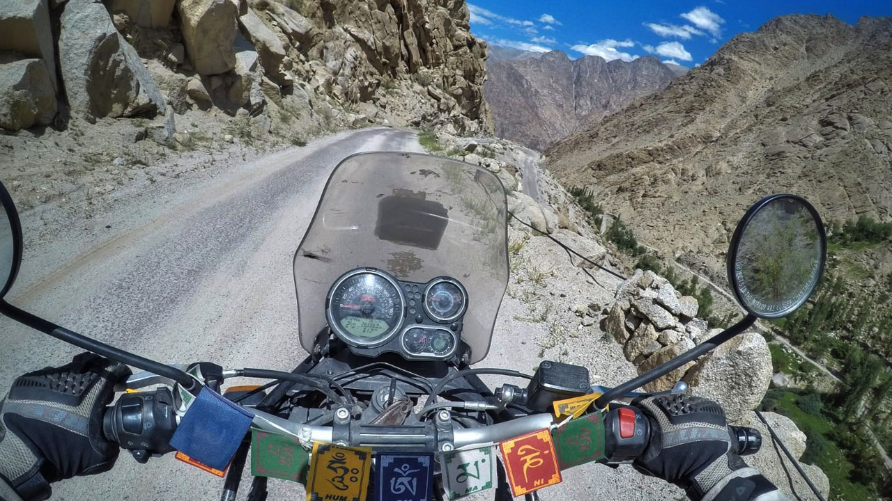 Motorcycle Touring in the Himalayas