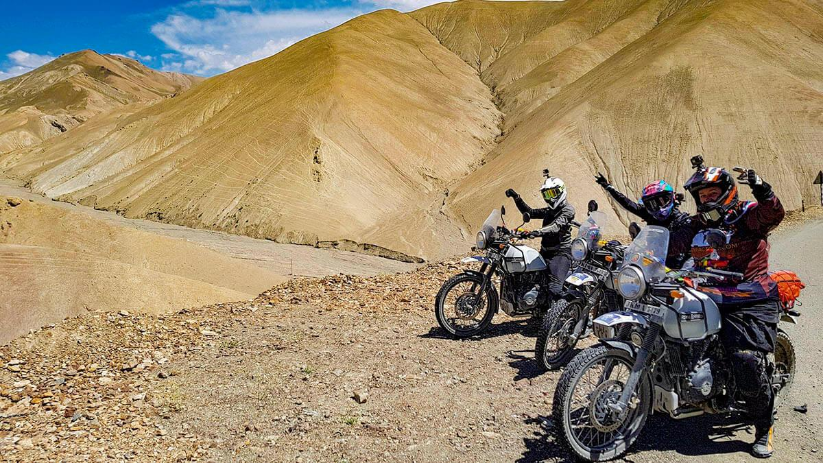 Himalaya: Women's Motorcycle Tour