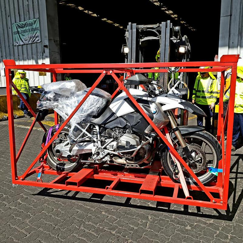 TRANSPORT OF MOTORCYCLES