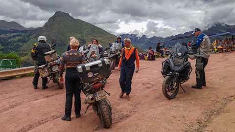 PERU AND CHILE