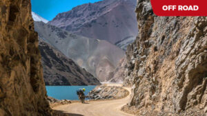 Altiplano - Argentyna, Boliwia, Chile offroad dla dużych motocykli