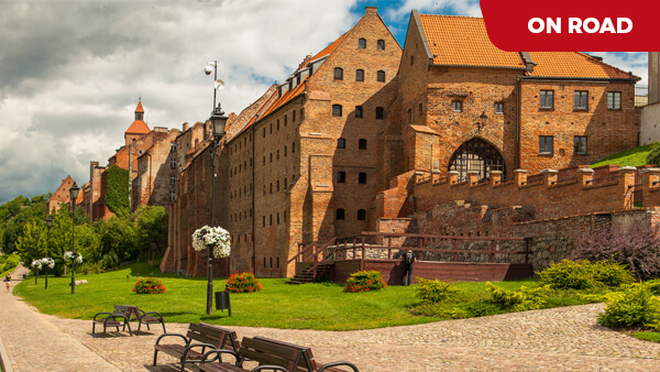 KUJAWSKO-POMORSKIE - the land of red bricks