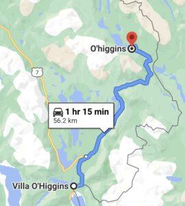 Carretera Austral Villa O'Higgins