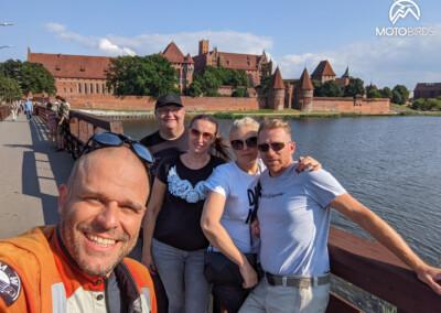 Wycieczka motocyklowa po Polsce - Malbork