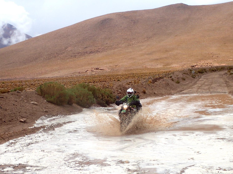 Wyprawa motocyklowa do Chile