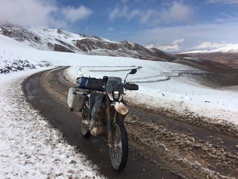 Motocyklem przez Chile