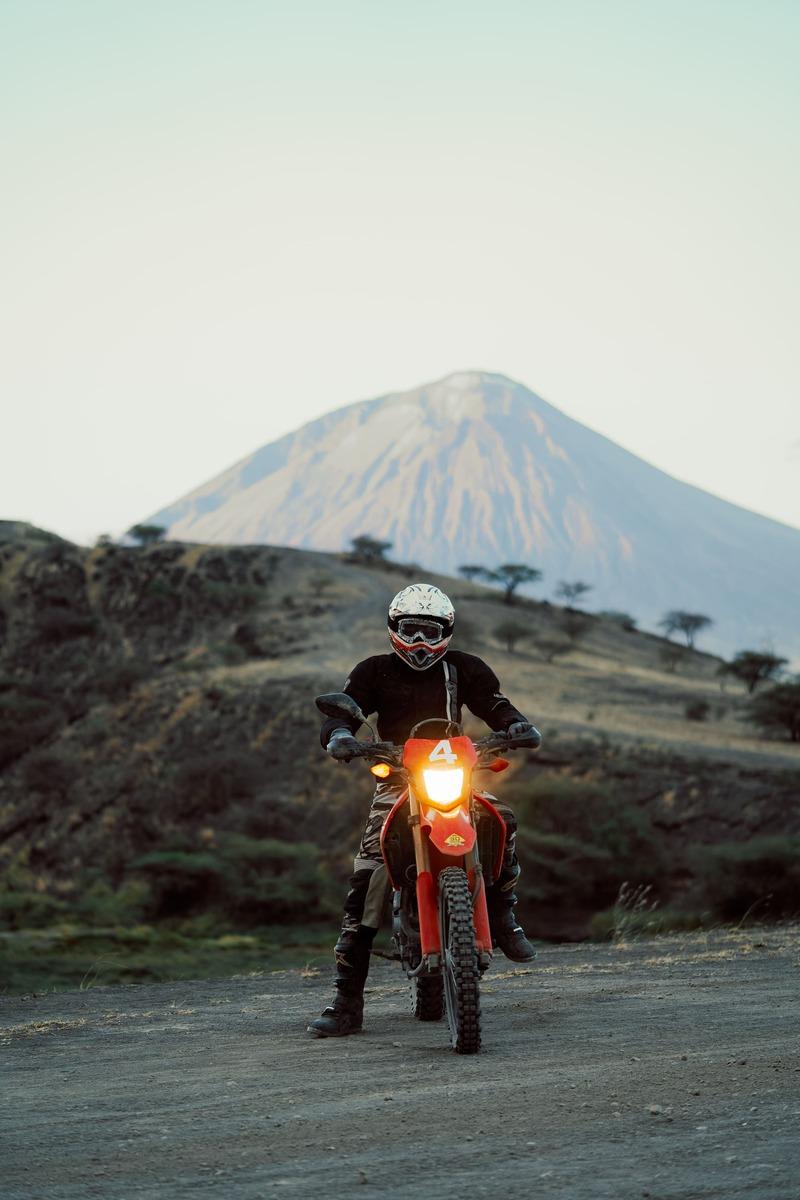 Motorcycle tour Africa Tanzania Kilimanjaro with MotoBirds