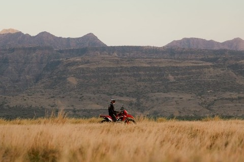 motorcycle tour to Africa Tanzania steppe biker