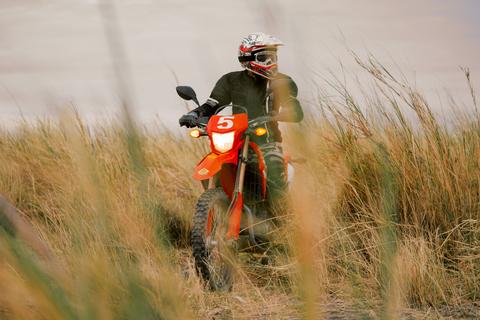 motorcycle tour to Africa Tanzania bike grass
