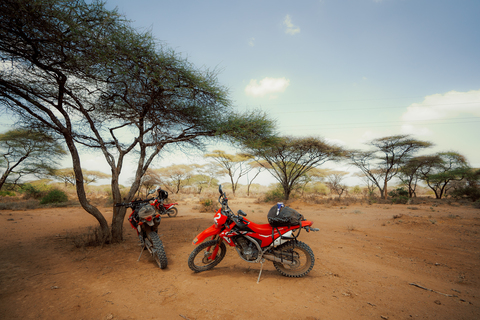 Tanzania Africa offroad motorcycle tour